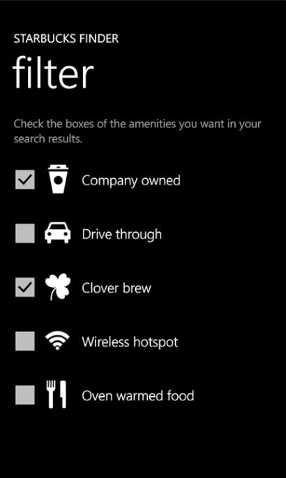 Starbucks Clover Brew Drive Through Filter Search